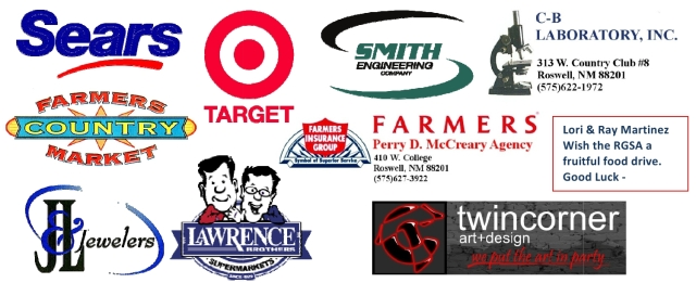 Food Drive Sponsors