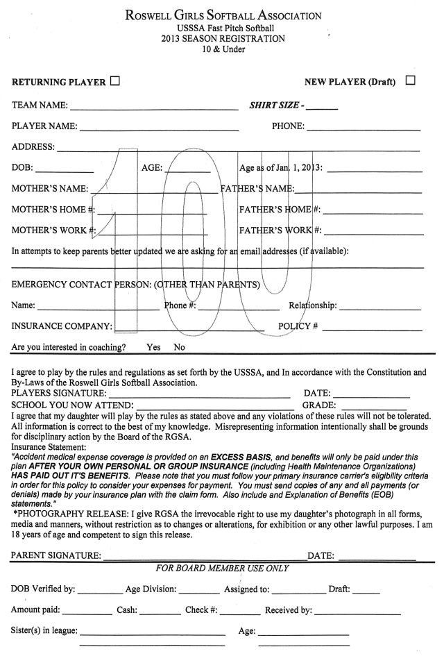 10u registration form