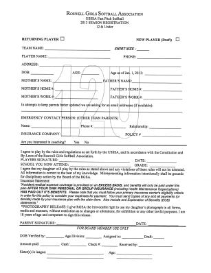12u registration form