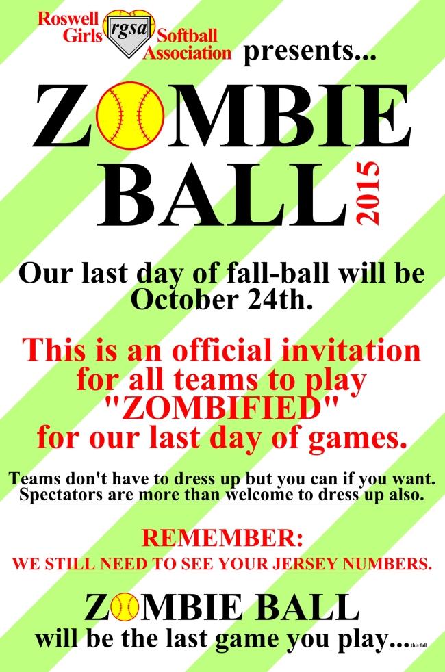 zombie ball 2015